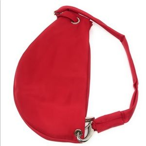 GROOM PARIS Microfiber Scarlet Red Waist Pack